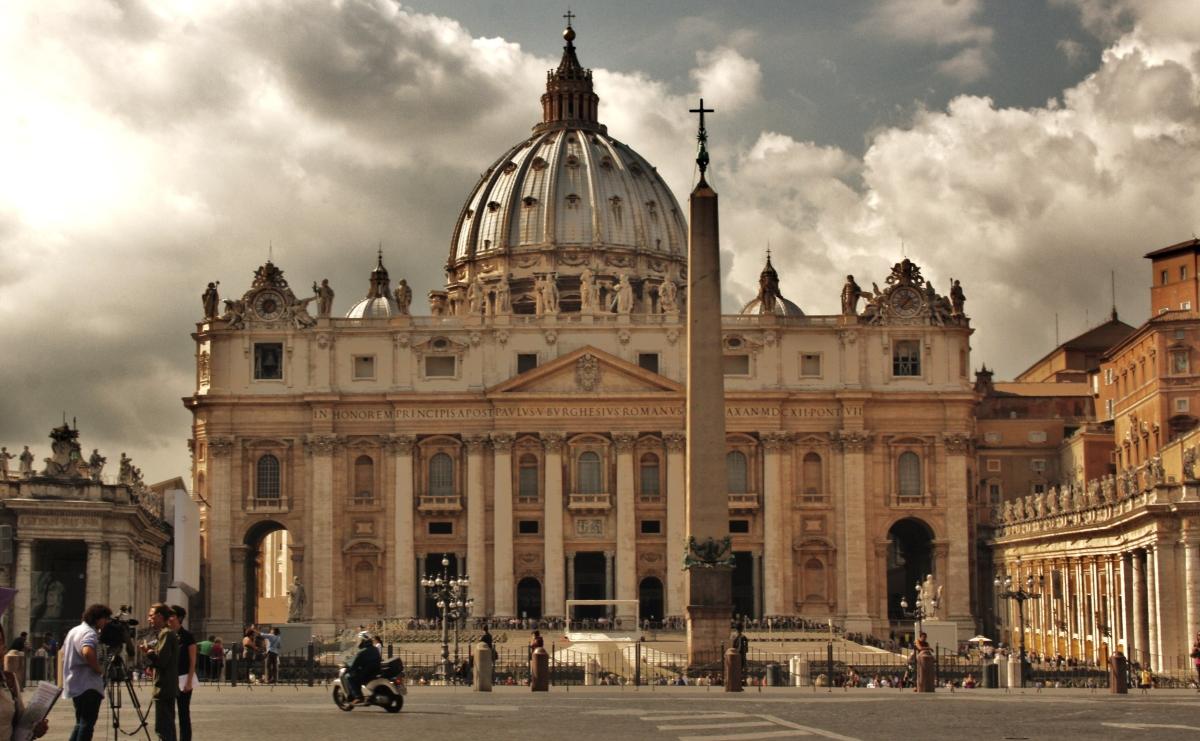 I let my heart in Vatican City