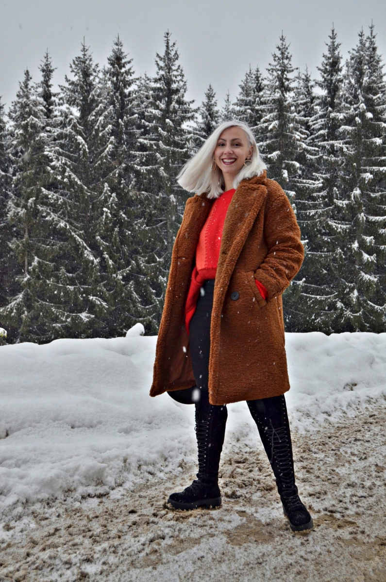 How to style TEDDY COAT